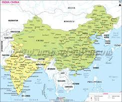 170707 India China Map
